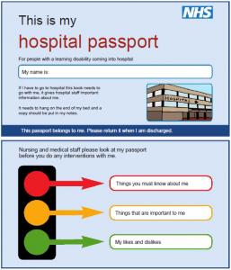MyLiferaft - Hospital Passport