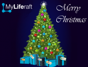 MyLiferaft - Christmas Card